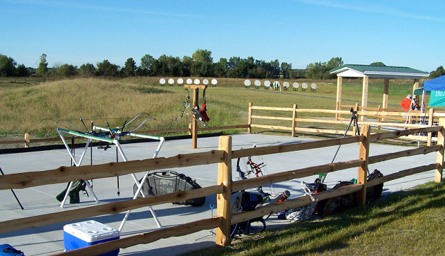 Archery, 22 firearm and air rifle equipment rental is available