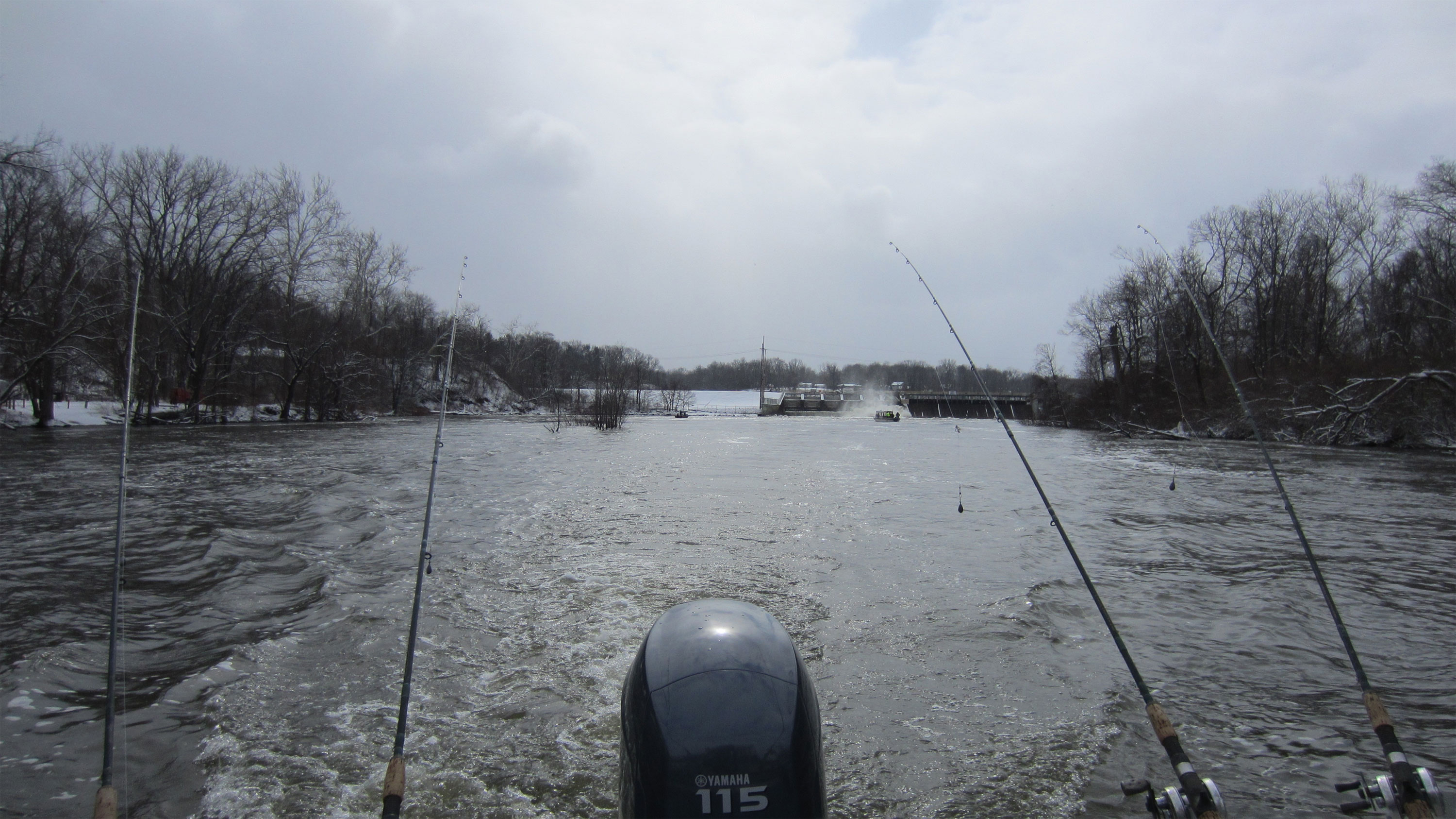 Fishing page for St joseph river fishing